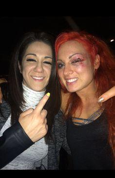 Becky Lynch & Bayley