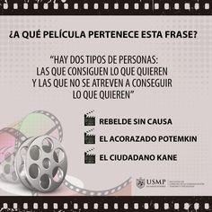 #TriviaFCCTP | ¿Día de cine? Cuéntanos, ¿en qué película apareció esta célebre frase?