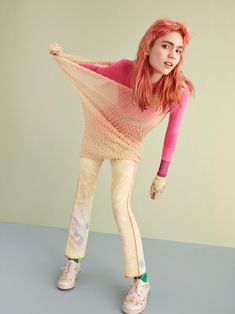 Grimes by Ben Toms for Teen Vogue April 2016
