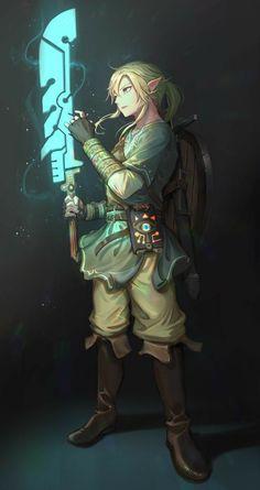 Armors 693272936365225126 - Link with guardian sword -Legend of Zelda Breath of the Wild Source by chloe_luce The Legend Of Zelda, Legend Of Zelda Memes, Legend Of Zelda Breath, Game Character, Character Design, Image Zelda, Super Manga, Link Zelda, Twilight Princess