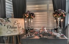Interior Ideas Table decoration & Feiern # table # Decoration Wedding Ceremony Music Music is Backyard Engagement Parties, Engagement Party Decorations, Bridal Shower Decorations, Wedding Ceremony Music, Wedding Favors, Gold Bridal Showers, Backdrops For Parties, Decoration Table, Simple Weddings