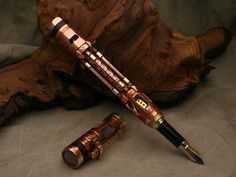 DIY Steampunk Pen, even though it's in Russian, you can just view the detailed step by step pictures without the words