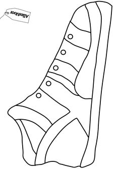 Gebruik dit sjabloon voor je schoen-surprise! #AllesVoor #Surprise #Sinterklaas #Schoen