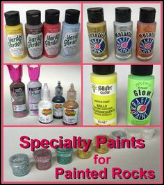 5 Specialty Acrylics for Painted Rocks