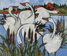 Claude A Simard: September 2011 Canadian Painters, Canadian Art, Art Canard, Duck Art, Art Et Illustration, Watercolor Sketch, Expo, Museum Of Fine Arts, Paintings