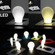 SHARE & Get it FREE | Amazing Pocket LED Card Light Mini Wallet Folding Lamp Portable Small Bulb GadgetFor Fashion Lovers only:80,000+ Items • New Arrivals Daily Join Rosewholesale: Get YOUR $50 NOW!