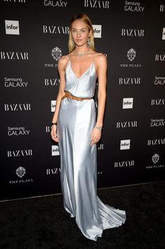 Candice Swanepoel Photos - Samsung GALAXY At Harper's BAZAAR Celebrates Icons By Carine Roitfeld - Zimbio
