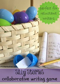 chicken babies: Elementary Easter Egg Writing Activity