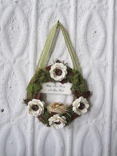 woodland mossy wreath