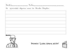 FICHAS PROYECTO: LUCES, CÁMARA Y ACCIÓN!!!!