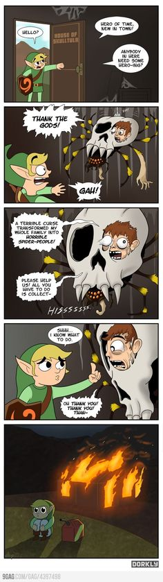 oh Link... you always knew how to solve the mysterious problems in life. me likey