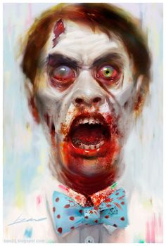 Check this lovely pastel-ish zombie <3