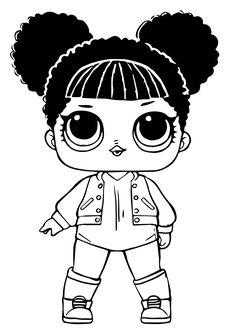 dusk lol doll coloring pages | Sleepy Bones Lol Doll Coloring Page To Print | Other | Lol ...