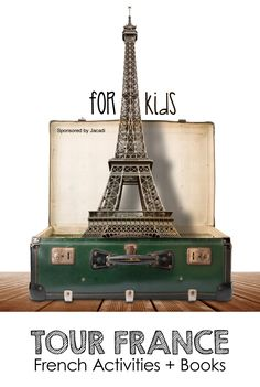 Multicultural Projects + Children's Books: France Activities for Kids *Love the art projects