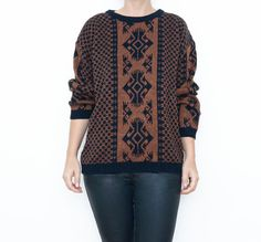 #Vintage #tribal #sweater by #ZvezdanaVintage, $36.00