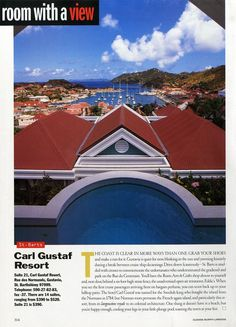 """Gustavia, St. Barts : 25 Years of """"Room with a View"""" Photos : Condé Nast Traveler"""