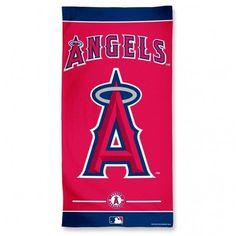"""Los Angeles Angels 30""""x60"""" Beach Towel"""