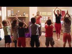 Séance de Yoga pour enfant en garderie. - YouTube