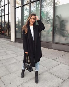 Winter Fashion Outfits, Work Fashion, Winter Outfits, Autumn Fashion, Casual Outfits, Cute Outfits, Winter Ootd, Preppy Style, My Style
