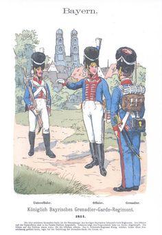Band IV #6.- Bayern. Königlich Bayerisches Grenadier-Garde-Regiment 1814.