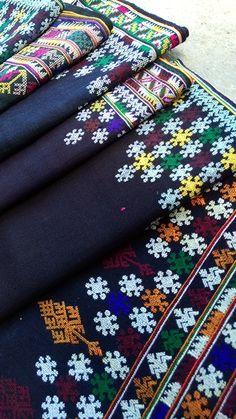 Yao hilltribe textile
