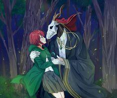 Elias & Chise.  Mahoutsukai no Yome.