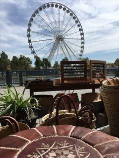 Ferris Wheel, Fair Grounds, Store, Travel, Voyage, Tent, Shop Local, Larger, Viajes
