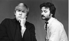 The young ones ... John Candy and Bill Murray performing at Second City in 1973