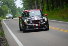 Nothing owns the road in style like a MINI John Cooper Works Countryman.