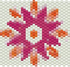 bead quilt project - Bing Images- Make it with Delica beads