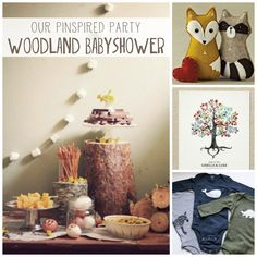 PINspiration for an uh-mazing woodland inspired babyshower @grownandhealthy