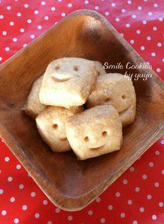 オーブンの余熱時間で生地ができちゃう簡単クッキープレーン味☆にこにこスマイルで作るあなたも贈られた人もハッピーに♪