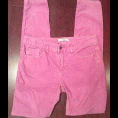 """Free People PURPLE corduroy  **PRICE DROP** Measured laying flat, waist 15 1/2"""" x 31"""". Good preowned condition Free People Pants"""