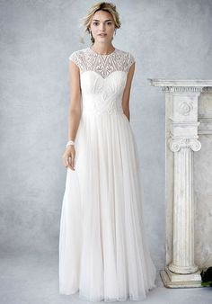 Kenneth Winston: Ella Rosa Collection BE425 Wedding Dress