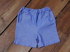 Sachensucher-Shorts aus Jeansjersey