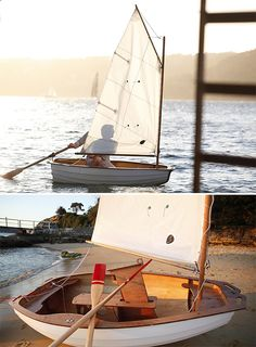 DIY Sailboat Kit ~30 hours. That's all the time it takes to build your own wooden sailboat with this DIY kit.