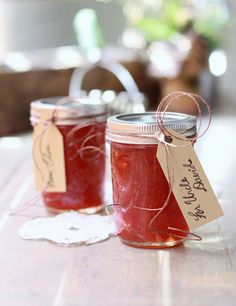 Easy, small-batch Strawberry Jelly  (full step-by-step canning tutorial too!) I'm way more confident to try this now.