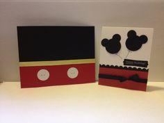 Birthday Card - Mickey.  #Disney  (Apr'12)