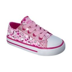 Target-Toddler Girl's Cherokee® Hello Kitty Canvas - Pink (These are so Blakley's personality!!)