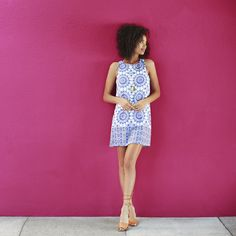 Flattering and timeless, shift dresses are an essential closet staple. Opt for one in a bold pattern in a classic color palette to spice up your warm-weather wardrobe. Complete the look with wedges or gladiator sandals for an effortless outfit for any summer occasion. Have you signed up for Stitch Fix yet? Get gorgeous pieces like these, delivered straight to your door!