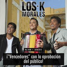 @LosKMorales Vencedores con la aprobación del público http://vallenateando.net/2015/06/26/los-k-morales-vencedores-con-la-aprobacion-del-publico/ …