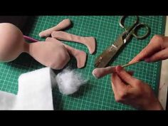 Tutorial muñeca rusa: brazos, cabeza y piernas - YouTube