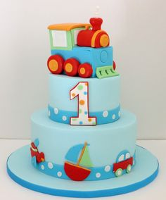 Transportation Cake | by cakespace - Beth (Chantilly Cake Designs)