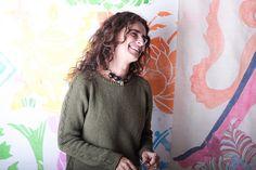 Ravelry: Kham Sweater pattern by Valentina Cosciani