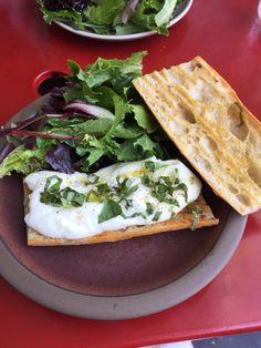 Happy fourth. One of those happy days. Bonus: Alotta burrata sandwich @ mission cheese. So gooooood.