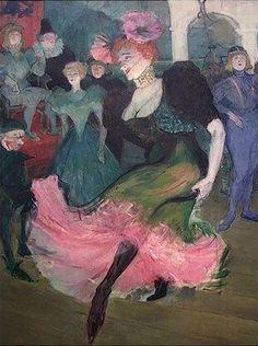 Marcelle Lender Dancing the Bolero in Chilperic (detail) (1896)