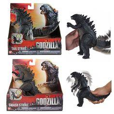 Godzilla 2014 Movie Godzilla Fighting Action Figure Case