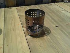 How to make an Ikea wood burning hobo stove