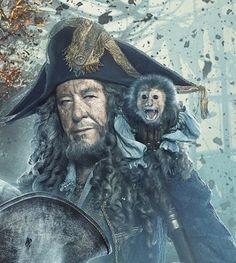 Captain Hector Barbossa & Jack - POTC 5