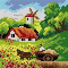 1 million+ Stunning Free Images to Use Anywhere Cross Stitch House, Cute Cross Stitch, Cross Stitch Flowers, Cross Stitch Kits, Cross Stitch Charts, Cross Stitch Designs, Cross Stitch Patterns, Cross Stitching, Cross Stitch Embroidery